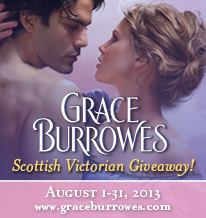 Burrowes Book Giveaway